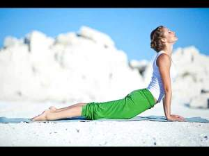 cobra back pain - healing yoga