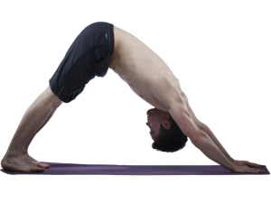 Downward-facing-dog 2 men - 10 pose for men - healing yoga