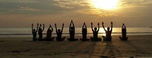 hatha yoga rajadhiraja class brighton healing yoga celine gamen