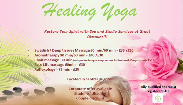 Healing yoga massage 2
